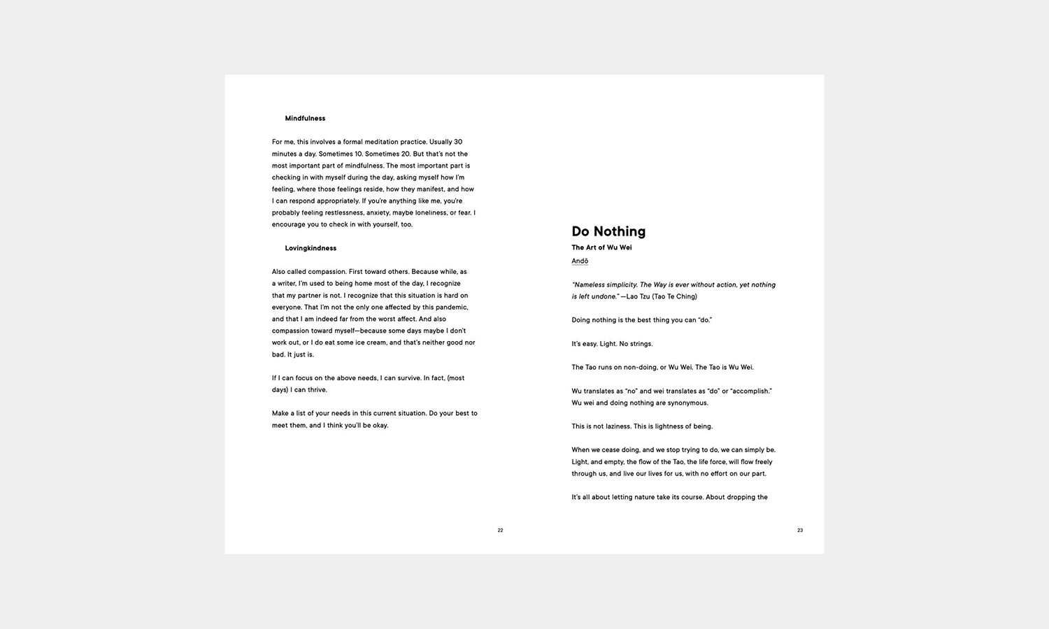 Inside Minimalism Vol.1 Book